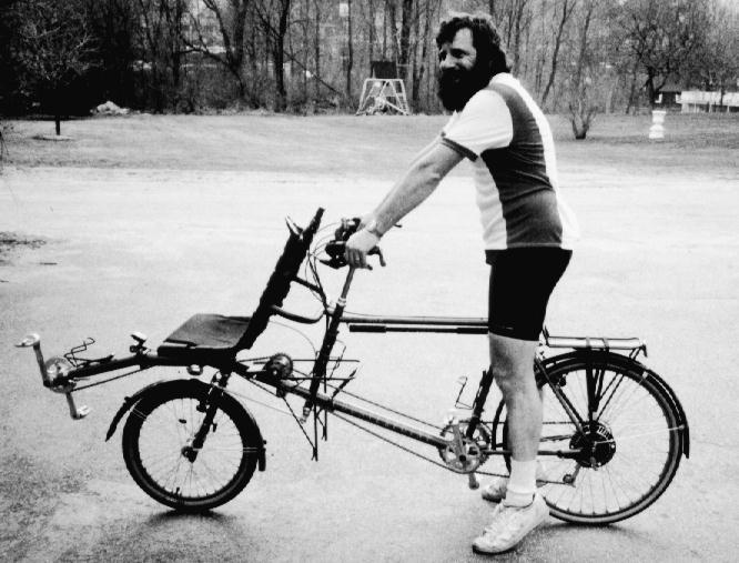 Recumbent Bicycle Pictures